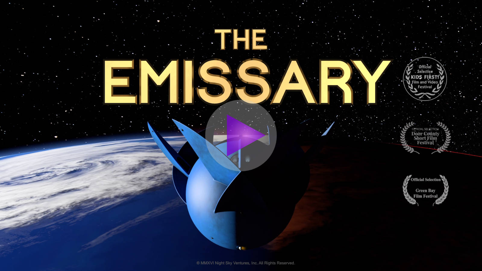 The Emissary Movie - Mindfulness from Outer Space